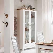 landhaus vitrine nicolae aus birke weiß