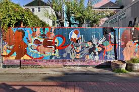 Balmy Alley Murals Mission District by Ipernity Things Fall Apart U2013 Balmy Alley Mission District San