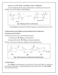Chair Conformation Of Cyclohexane Ppt by Stereochemistry