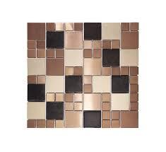 Murano Dune Mosaik Smart Tiles by Flexipixtile Modern Aluminum Mosaic Tile Peel U0026 Stick