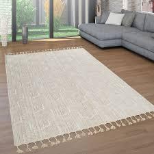 teppiche teppich modern vintage design fransen wohnzimmer