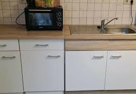 küche küchenblock spülschrank sonoma eiche