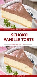 schoko vanille torte