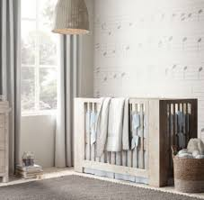 You Are My Sunshine Baby Bedding by Washed Organic Linen Nursery Bedding Collection