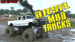 BIG DIESEL MUD TRUCKS BOGGING In Oklahoma - YouTube