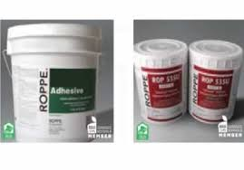 6100 sports flooring adhesive by roppe