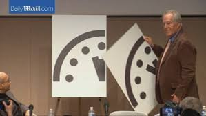 Doomsday Clock Moved Closer To Midnight