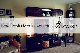 Media Center for $400 Ikea Besta Media Center Review