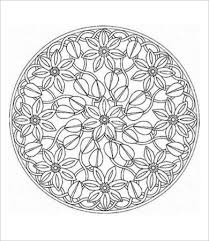 Free Printable Mandala Coloring Page For Adults