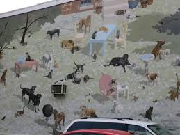 Philadelphia Mural Arts Love Letter Tour by Cats And Dogs Mural Picture Of Mural Arts Program Of