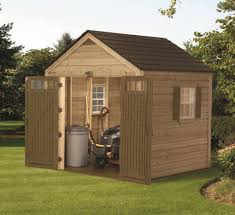 8 X 6 Resin Storage Shed by Suncast American 8x8 Hybrid Storage Shed Wrs8800 Free Shipping