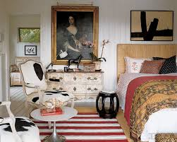 Eclectic Decorating Elle Decor Bedroom