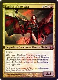 amazon com magic the gathering kaalia of the vast oversized