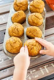 Cake Mix And Pumpkin Muffin Recipe by Pumpkin Muffins