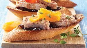what does canape au pied de cochon duck foie gras rillette canapés iga recipes