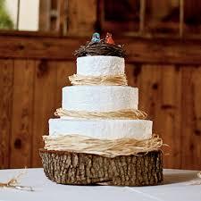 Rustic Wedding Cake L