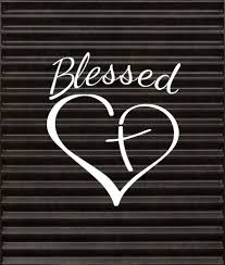 Blessed Heart Decal Sticker JDM Lowered Car Truck SUV Boat Vinyl Die ...