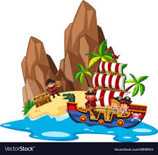100 Design A Pirate Ship Kids Sailing On Pirate Ship
