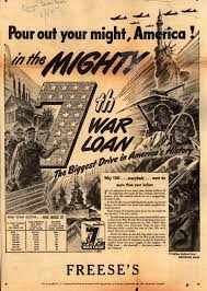 S 7th War Loan Pour Out Your Might America