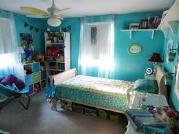 Cute Teenage Bedroom Ideas by Bedroom Cool Blue And White Themes Design Room For Teenage Girls