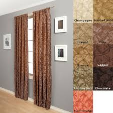 108 Inch Long Blackout Curtains by Softline Zanzibar Rod Pocket 108 Inch Curtain Panel Free