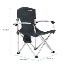 Amazon.com : Kingcamp® Deluxe Aluminum Arms Chair - 17 ... Recliner Camp Chair Eureka Folding Muskoka Bear Essential Kuma Outdoor Gear Latulippe 20 Coaster Catalog Dine By Company Of America Issuu Oversized Items Tagged Outdoors Oriented Paul Bunyans High Back Lawn Black Free Delivery Klang Valley Tethys With Crazy Creek Legs Quad Beachfestival Sea Foam Curvy Highback Chaireureka Marchway Lweight Portable Camping