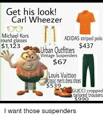 Adidas Gucci And Memes Get His Look Carl Wheezer Michael Kors ADIDAS