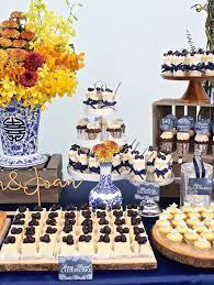 Close Up Shot Of A Rustic Asian Wedding Dessert Table Via Karas Party Ideas KarasPartyIdeas