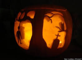 Corpse Bride Pumpkin Stencil by Hard Pumpkin Carving Templates Youtuf Com