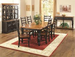 TEI Oak Dining Room Set