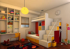Kids Bedroom Model Max Models Download Files Cgtrader Com Comfortable For In Interior Design 49ers Fire
