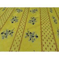 nappe toile ciree au metre nappe toile cireè olive jaune toile enduite au mètre olive jaune