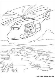 News Helicopters Tow Mater Coloring Page For Kids Free Online Disney Characters LightningMcQueens Pages