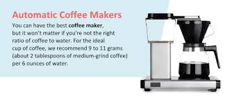 The 6 Types Of Coffee Makers