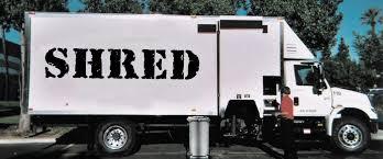 Paper Shredding Truck - River Style