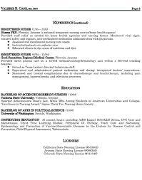 Resume Sle Best Nurse Nursing Skills List For Exle Healthcare Pediatric Objective