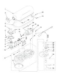 Kitchen Aid Mixer Parts Diagram Refrigerators Portions Blender With Medium Image Can You Put Kitchenaid In