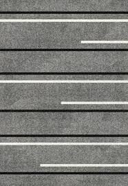 Lumini Grey Area Rug Striped Design