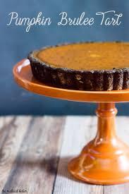 Desserts With Pumpkin Pie Filling by Pumpkin Brulee Tart By The Redhead Baker For Pumpkinweek