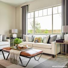 Your Living Room Looks Good In Leather Pulte Homes