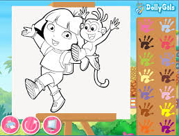 Full Size Of Coloring Pagedora Games Dora For Free Page