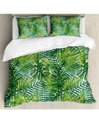 DEAL ALERT Ambesonne Leaf Tropical Exotic Banana Forest Palm Tree