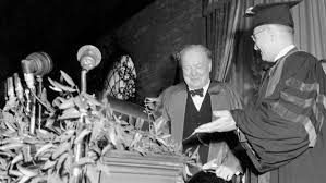 churchill s iron curtain speech video winston s churchill