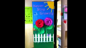 decoration ravishing fascinating spring classroom door decor