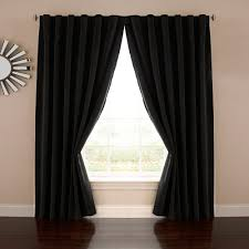 Kohls Kitchen Window Curtains by Absolute Zero Velvet Thermaback Blackout Home Theater Window Curtain