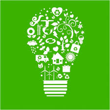 Recycle Light Bulb Free vector in Adobe Illustrator ai AI