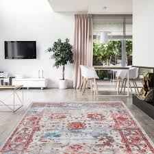 rugs carpets teppich flachflor floral ornament muster