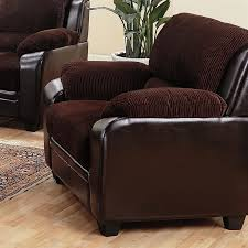 Chocolate Corduroy Sectional Sofa by Monika Chocolate Corduroy Chair By Coaster 502813