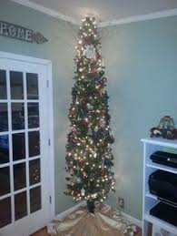 Downswept Pencil Christmas Tree by Merry 9ft Pencil Christmas Tree Contemporary Design Martha Stewart
