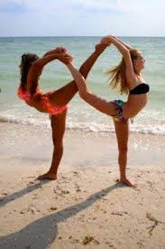 I Wish One Of My Friends Did Yoga Would Love To Form This Infinity Couples Poses2 People PosesYoga
